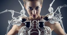 Anouk Wipprecht Smart Spider Dress, powered by Intel Edison, blends fashion with robotics and wearable tech. Impression 3d, 3d Printed Dress, Berlin, Spiegel Online, Smart Dress, Wearable Technology, Fashion Technology, Technology Design, Technology News