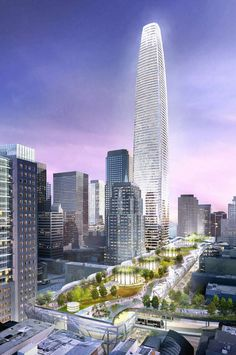 Transbay Transit Center and Tower - Architecture Linked - Architect & Architectural Social Network