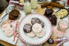 A Christmas tradition passed on to you by Alison Sweeney! Mint Cookies! For more delicious recipes tune in to Home & Family weekdays at 10a/9c on Hallmark Channel!