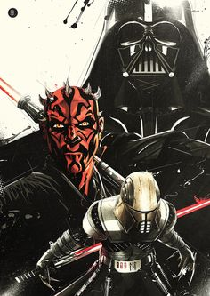 Star Wars - Sith Lords by Florent Belonte