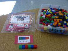 First Grade Garden: First Grade Math Stations - Set 1 Math Classroom, Kindergarten Math, Teaching Math, Teaching Ideas, Classroom Ideas, Montessori, Math Stations, Math Centers, Learning Stations