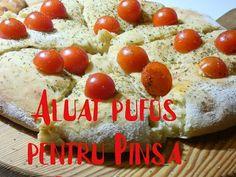 Pinsa Romana.(Aluat mega pufos se poate si pentru pizza). - YouTube Pizza, Make It Yourself, Vegetables, Food, Youtube, Meal, Veggies, Essen
