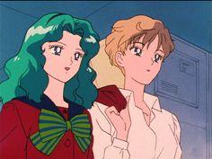 Sailor Moons, Sailor Neptune, Sailor Scouts, Haruka And Michiru, Sasameki Koto, Sailor Moon Episodes, Good Anime Series, Japanese Cartoon, Kawaii