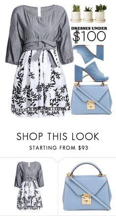 """#356 Lifelines"" by mayblooms on Polyvore featuring Mark Cross, Robert Clergerie and dressesunder100"