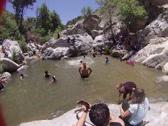 3. Aztec Falls --  San Bernardino County/Pacific Crest Trail