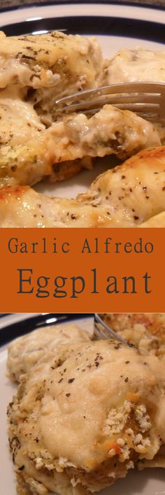 Eggplant Parmesan is my favorite way of eating eggplant but this is a nice change from tomato sauce. A delicious meal served with Lemon Pepper Chicken and crusty bread. recipezazz.com
