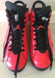huge selection of 9e8b2 e081f Rare Nike Air Jordan Retro 6 Infrared Mens Sneakers Size US 9 384664-623
