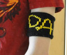 An armband (or cup cozy) to demonstrate your allegiance to Hogwarts' most famous headmaster!