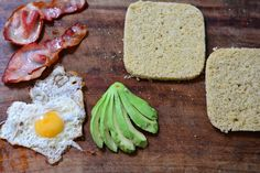 Magic Microwave Carb Free 'Bread' and the Amazing Breakfast Sandwich | Made by margie