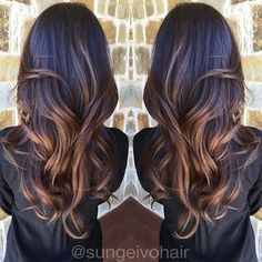 #ShareIG Heavenly Brunette Balayage Highlights!✨ @sungeivohair #colleyville #texas @olaplex