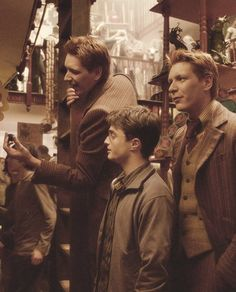 Fred, George, and Harry