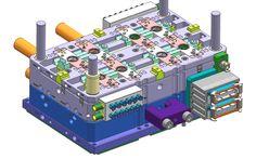自动化管理 Injection Mold Design, Ac System, Cad Cam, Industrial Park, Mould Design, Plastic Injection Molding, Roofing Systems, Plastic Molds, Machine Design