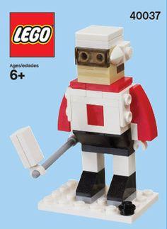 LEGO 40037-1: Hockey player | Brickset: LEGO set guide and database