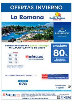 La Romana (Rep. Dominicana) 80% Grand Bahía Príncipe La Romana (vuelo a Santo Domingo) salidas en Enero desde Madrid ultimo minuto - http://zocotours.com/la-romana-rep-dominicana-80-grand-bahia-principe-la-romana-vuelo-a-santo-domingo-salidas-en-enero-desde-madrid-ultimo-minuto/