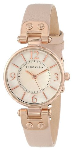 Rose Gold-Tone and Blush Pink Watch