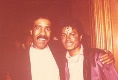 Richard Pryor and Michael Jackson - forever rest in peace - Elvis Presley, I Movie, Movie Stars, Richard Pryor, Black Comics, Stand Up Comedians, The Jacksons, Archangel Michael, Comic Book Characters