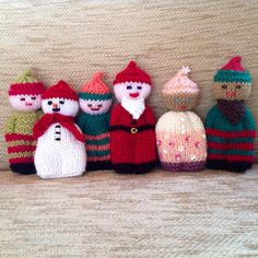 Bobbly People - Christmas