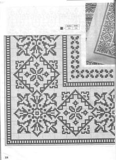 Cross Stitch Borders, Cross Stitch Flowers, Modern Cross Stitch, Cross Stitch Designs, Cross Stitching, Cross Stitch Patterns, Towel Embroidery, Blackwork Embroidery, Cross Stitch Embroidery