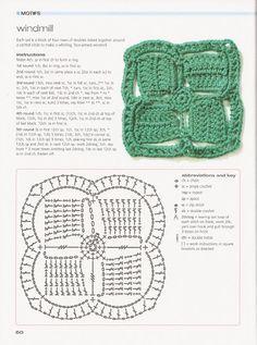 Crochet Granny - Chart ❥ 4U hilariafina  http://www.pinterest.com/hilariafina/