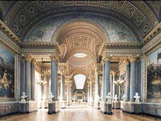 Galerie des Batailles, Chateau de Versailles by Franck Bohbot Architecture Design, Classical Architecture, Beautiful Architecture, Beautiful Buildings, Beautiful Places, Historical Architecture, Jardin Decor, Around The Worlds, Pictures