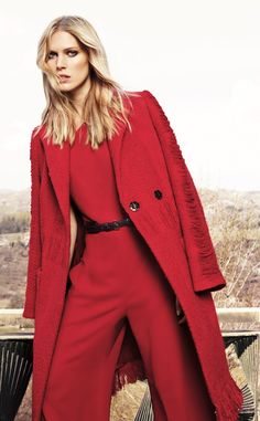 Escada ~ <3  My fave colors are red and turquoise and my birthstone color purple so this Red really catches my eye