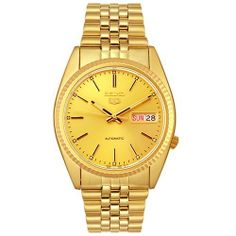 Price: $195.00  Seiko Men's SNXJ94 Automatic Goldtone Gold Dial Watch Seiko,MEN'S AND WOMEN'S WATCHES. If you would like to buy this item just click on amazon below the Pinterest Pin, this takes you right to the amazon page. http://www.amazon.com/gp/product/B000G2BAB0?ie=UTF8=213733=393185=B000G2BAB0=shr=abacusonlines-20&=watches=1362457823=1-19=rolex