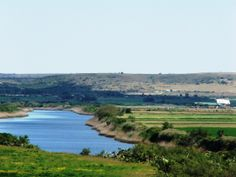 Gamtoos River, close to Jeffreys Bay and Port Elizabeth, Eastern Cape, South Africa