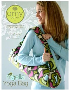 Sew a yoga mat bag with a free pattern from this list of free sewing patterns. A bag for your yoga mat is a great way to keep it clean and compact.