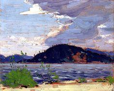"""bofransson: """"Spring, Canoe Lake Tom Thomson - 1916 """""""
