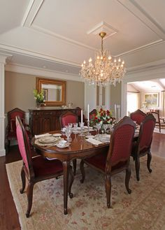 Fancy dining room from my photoshoot in Santa Ynez ranch home. Interior design by Sara Balough Santa Ynez, Ranch, Dining Room, Photoshoot, Interiors, Landscape, Interior Design, Photography, Furniture
