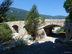 Old bridge over the river Vaire, Annot  dans les Alpes de Hautes Provence