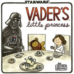Star Wars: Vader's Little Princess Book found this at Barnes and Noble! i want this for when i have a little girl :)