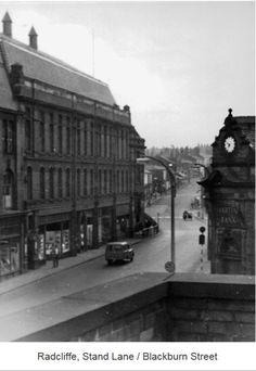 Radcliffe, Stand Lane / Blackburn Street.