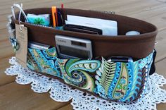 DIY purse/diaper bag organizer. I need to make this...