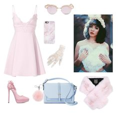 """""""Untitled #28"""" by lilemiskye on Polyvore featuring Giambattista Valli, ShoeDazzle, Apt. 9, Le Specs, Black, Michael Kors, Casetify and Lilly e Violetta"""