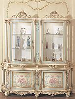 New products and trends in architecture and design Baroque Furniture, Luxury Furniture, Vintage Furniture, Painted Armoire, Colorful Furniture, Furniture Inspiration, Luxury Homes, Shabby Chic, Old Things