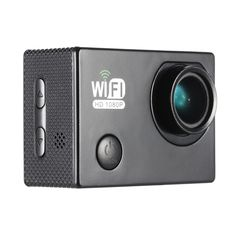 Only US$23.99, black Full HD Wifi 12MP 1080P 30FPS 140 Degree Wide Lens Waterproof - Tomtop.com