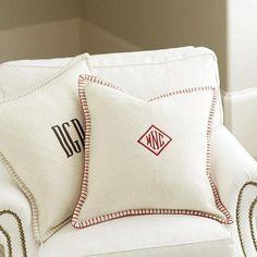 Wool Whipstitch Pillow