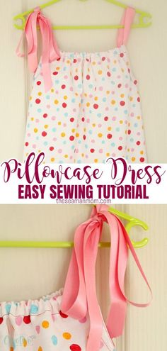 Easy Kids Sewing Projects, Baby Sewing Tutorials, Sewing Patterns For Kids, Dress Sewing Patterns, Sewing Projects For Beginners, Sewing For Kids, Skirt Patterns, Dress Tutorials, Blouse Patterns