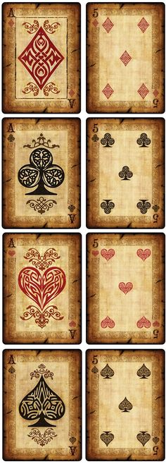 Bicycle Old Parchment Playing Cards by Collectable Playing Cards — Kickstarter