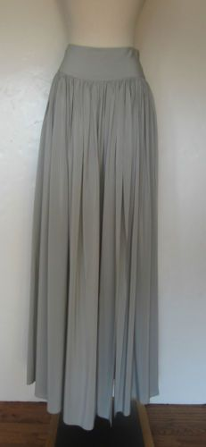 Cut25 Pleated Silk Maxi Skirt