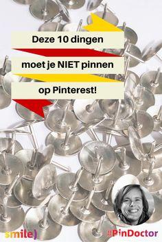 Deze 10 dingen moet je NIET pinnen op Pinterest! Blog door @suuswartenbergh