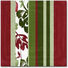 Trademark Fine Art Woodlands Christmas IV Canvas Art by Color Bakery, Assorted