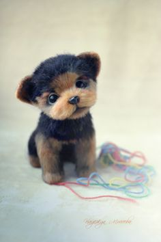 @дневники — Бланманже.........This is a handcrafted puppy!