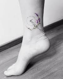 Lavender Tattoo 20