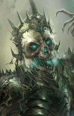 Resultado de imagem para guerreiros esqueletos art fantasy