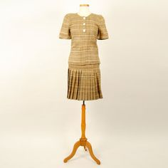 Vintage Valentino Tweed Suit 4 now featured on Fab.