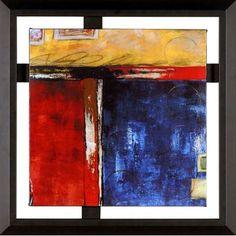 Meterol I Framed Canvas