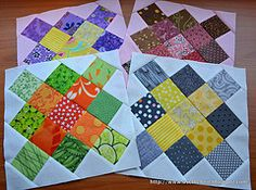 Granny Square Block with Triangle Sides Tutorial
