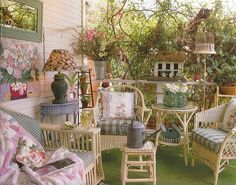 outdoor living at its best on Flickr - Photo... —   Wicker Furniture Blog www.wickerparadise.com